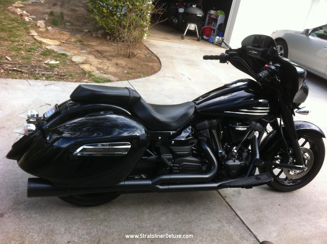Selling my stryker yamaha star stryker motorcycle forum for Yamaha stryker saddlebags